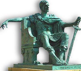 const Emperor Constantine at York Minster