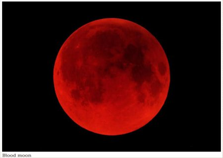 Blood Moon Nasa 2014 There will be a blood moon
